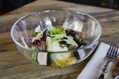 Итальянский салат в ресторане Стоковое Фото