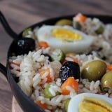 Итальянский салат риса Стоковое фото RF