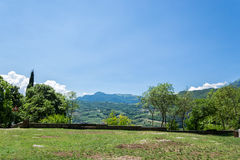 Итальянский северный ландшафт стоковое изображение rf