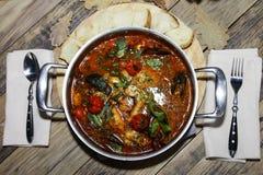 Итальянский суп в ресторане Стоковая Фотография RF