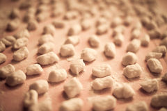 Итальянский сделанный дом gnocchi картошки Стоковое Фото