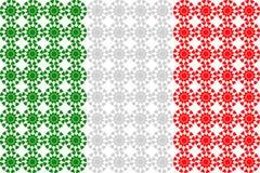 Итальянский флаг Стоковые Фото