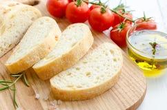 Итальянский хлеб ciabatta Стоковая Фотография RF