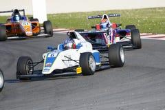 Итальянский чемпионат F4 приведенный в действие Abarth Стоковые Изображения