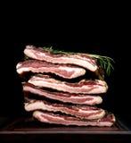 Итальянский pancetta мяса обеда Стоковое Изображение