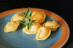 Итальянский tortellini Стоковая Фотография