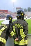2 итальянских пожарного Стоковое фото RF