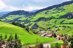итальянское село Стоковая Фотография