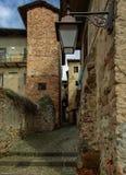 итальянское старое село Стоковые Изображения RF