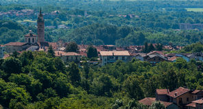 итальянское старое село Стоковое Фото