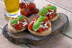 Итальянское friselle стартера - Апулия Стоковые Фото