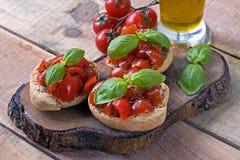 Итальянское friselle стартера - Апулия Стоковое Изображение