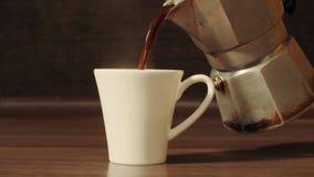 лить кофейной чашки стоковые фотографии rf