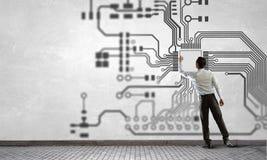 ИТ и инженерство стоковые изображения
