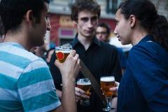Июнь 2012 - Париж - Fête de Ла musique Стоковое фото RF