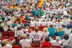 Июнь 2018, Российская Федерация, республика Татарстана, Казани, футбольного стадиона арены стоковое изображение