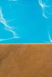 Идеал бассейна, poolside и песчаника для предпосылок Стоковое Изображение RF