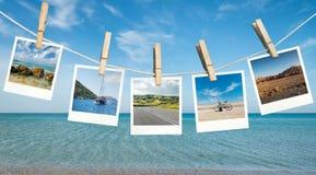 Идеи летних каникулов Стоковое фото RF