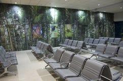 Идеи дизайна интерьера - зал ожидания авиапорта Стоковое Изображение RF