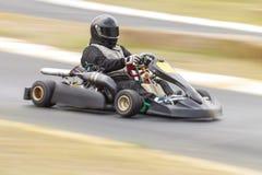 Идет гонщик Kart Стоковая Фотография