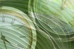 идет зеленое время к Стоковое Фото