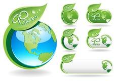 идет зеленый цвет Стоковое Изображение