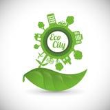 Идет зеленый дизайн Стоковые Изображения RF