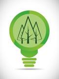 Идет зеленый дизайн Стоковые Фото