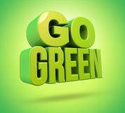 Идет зеленый цвет Стоковое фото RF