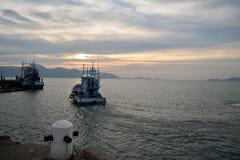 идет море к Стоковое Изображение RF