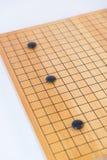 Идет, японская настольная игра стоковое фото