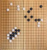 Идет, японская настольная игра стоковое изображение rf