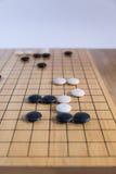 Идет, японская настольная игра стоковая фотография rf