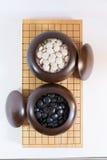 Идет, японская настольная игра стоковые изображения rf
