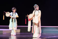 """Идет sightseeing- павильон пиона--мечты opera""""four Цзянси  linchuan†Стоковые Фотографии RF"""
