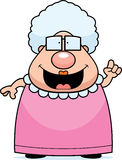 идея бабушки Стоковое фото RF