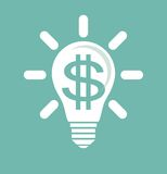 Идея заработать деньги иллюстрация вектора