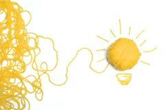 Идея и концепция нововведения Стоковое Изображение