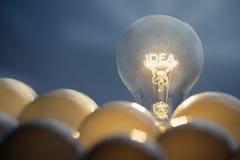 Идея и концепция решения стоковые фото