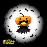 Идея иллюстрации вектора дизайна хеллоуина Стоковое Изображение RF