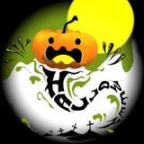 Идея иллюстрации вектора дизайна хеллоуина Стоковое фото RF