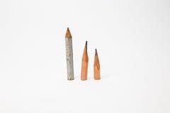 Идея короткого крупного плана изображения карандаша символическая Стоковые Фото