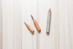 Идея короткого крупного плана изображения карандаша символическая Стоковые Фотографии RF