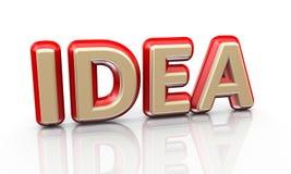 идея слова 3d бесплатная иллюстрация