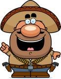 Идея Bandito шаржа Стоковые Фото