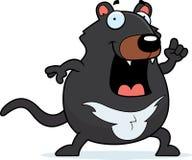 Идея Tasmanian дьявола шаржа Стоковая Фотография RF