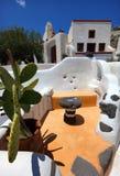 Идилличная смесь в Oia, Santorini Стоковое фото RF
