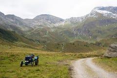Идилличный высокогорный ландшафт на Австрии Стоковая Фотография