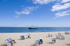 Идиллия пляжа Стоковая Фотография RF