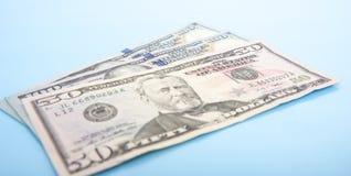 200 и 50 долларов Стоковое Изображение RF